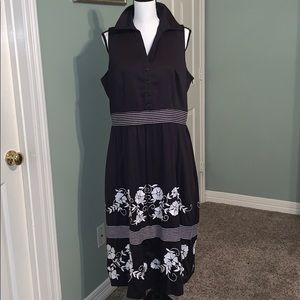 Coldwater Creek Black Dress